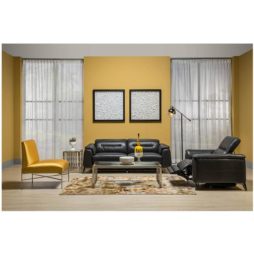 Anabel Gray Power Motion Leather Sofa  alternate image, 2 of 11 images.