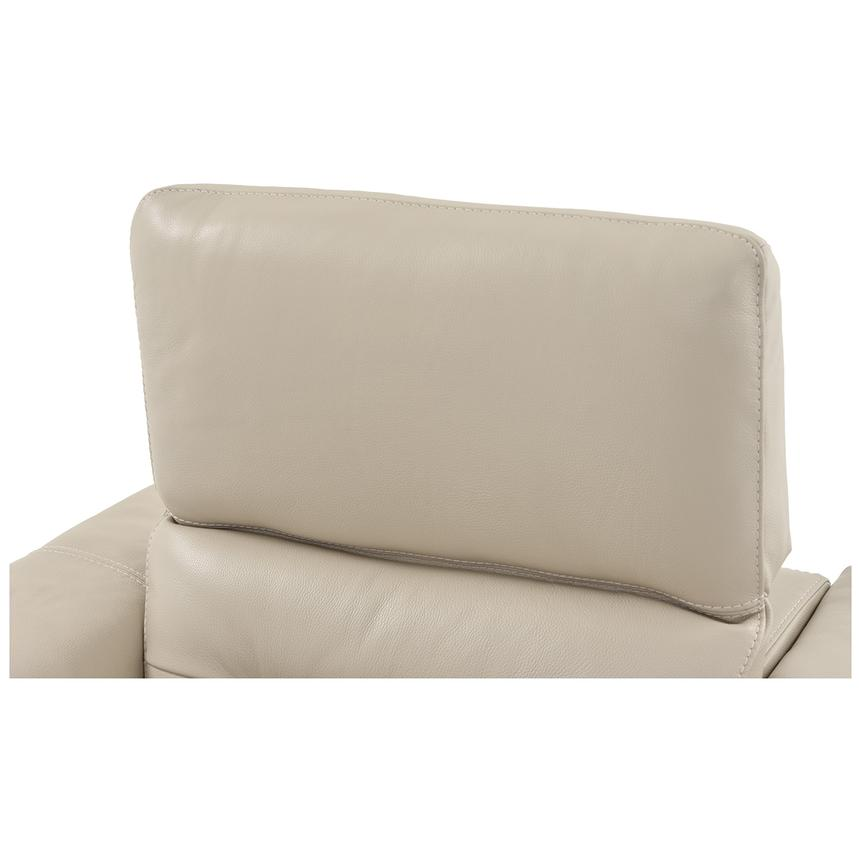 Anabel Cream Leather Power Recliner  alternate image, 6 of 9 images.