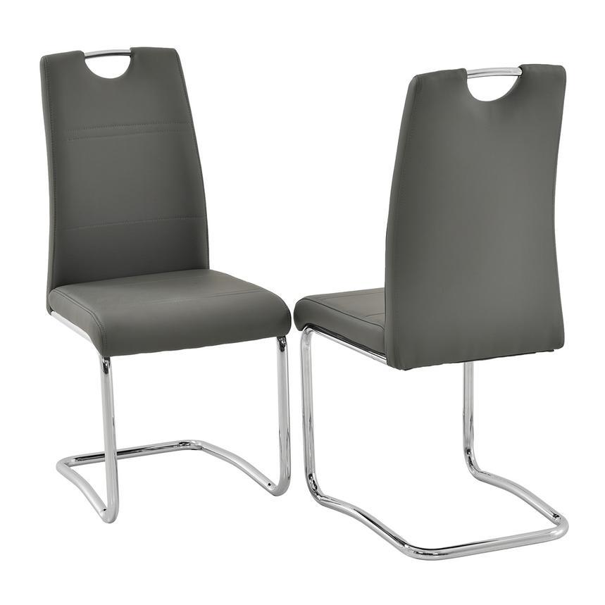 Lila Gray Side Chair El Dorado Furniture