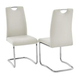 Lila White Side Chair