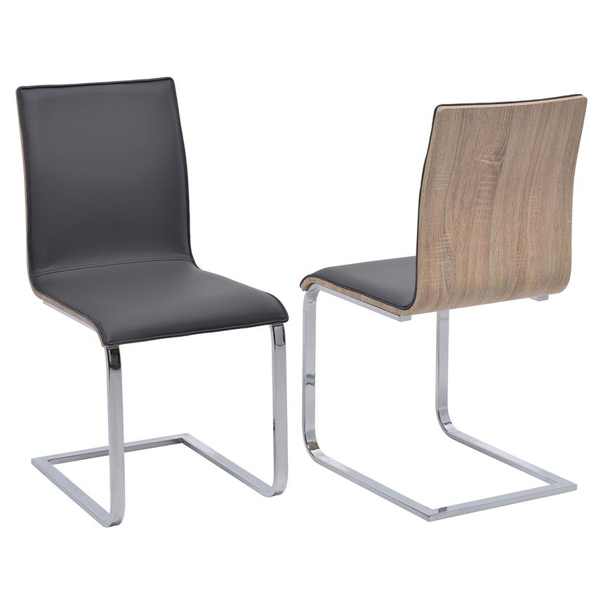 Solimar Gray Side Chair  main image, 1 of 5 images.