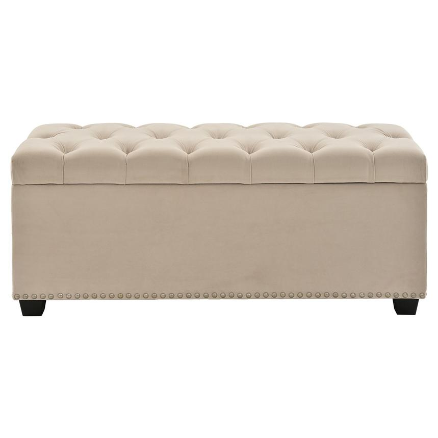 Majestic Beige Storage Bench  main image, 1 of 6 images.