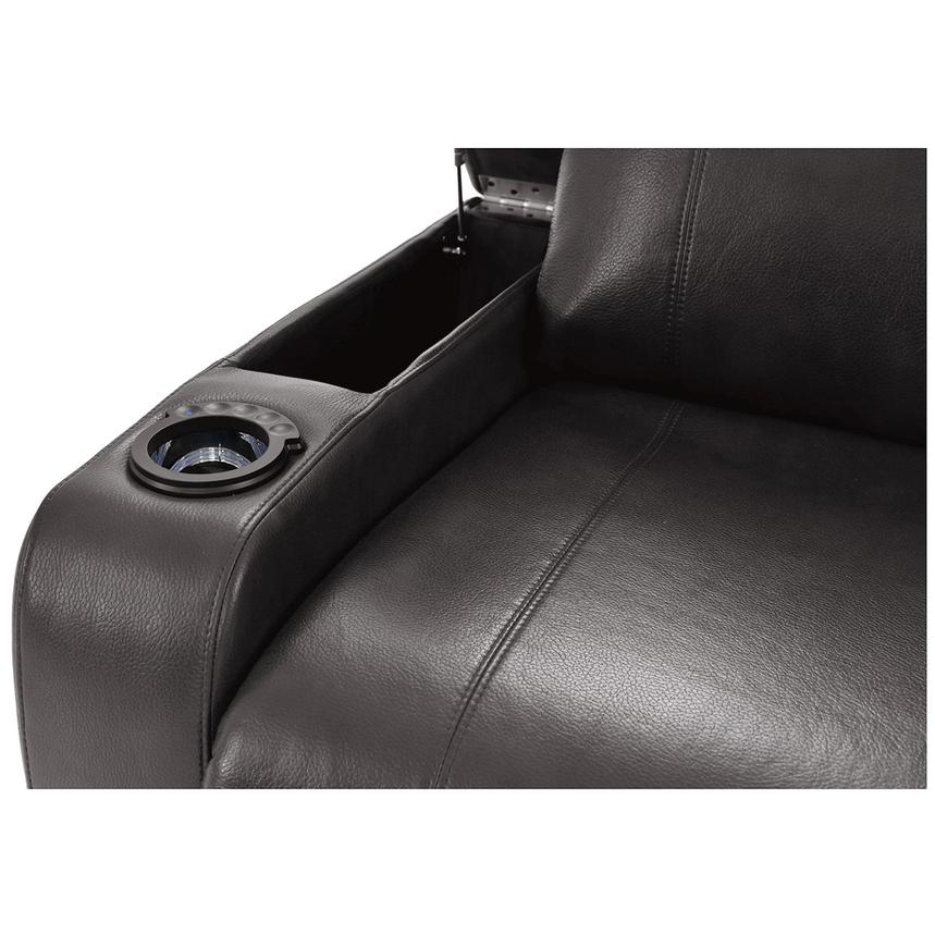 Magnetron Gray Power Motion Sofa w/Right & Left Recliners  alternate image, 7 of 12 images.