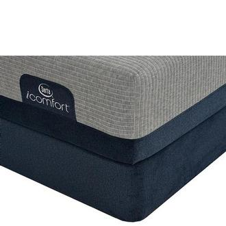 iComfort Blue Max 1000 Cushion Firm King Mattress w/Low Foundation by Serta