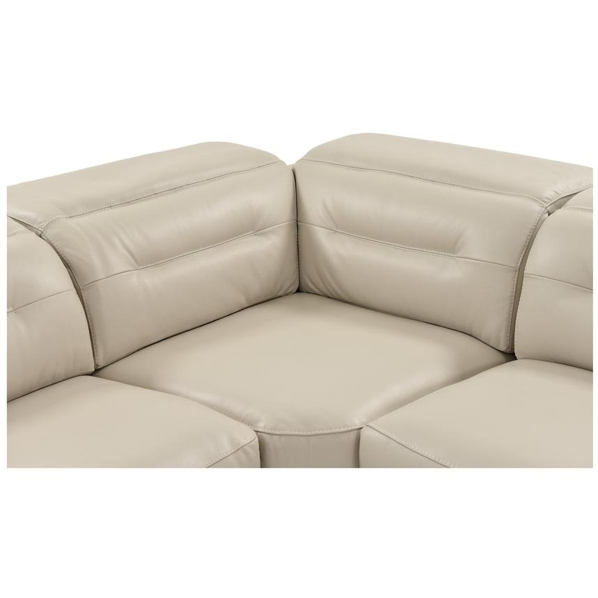 Anabel Cream Power Motion Leather Sofa w/Right & Left Recliners  alternate image, 7 of 13 images.