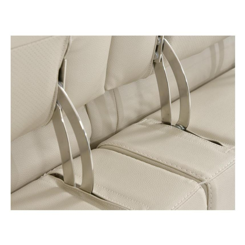 Anabel Cream Power Motion Leather Sofa w/Right & Left Recliners  alternate image, 11 of 14 images.