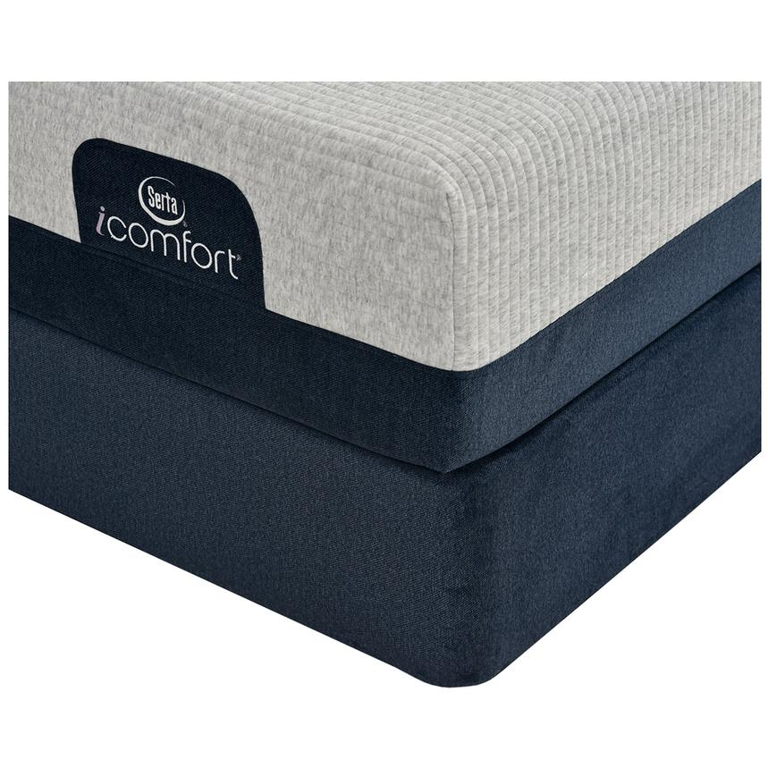 iComfort Blue 300 Queen Mattress w/Low Foundation by Serta  alternate image, 2 of 3 images.