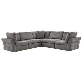 Francine Gray Sectional Sofa