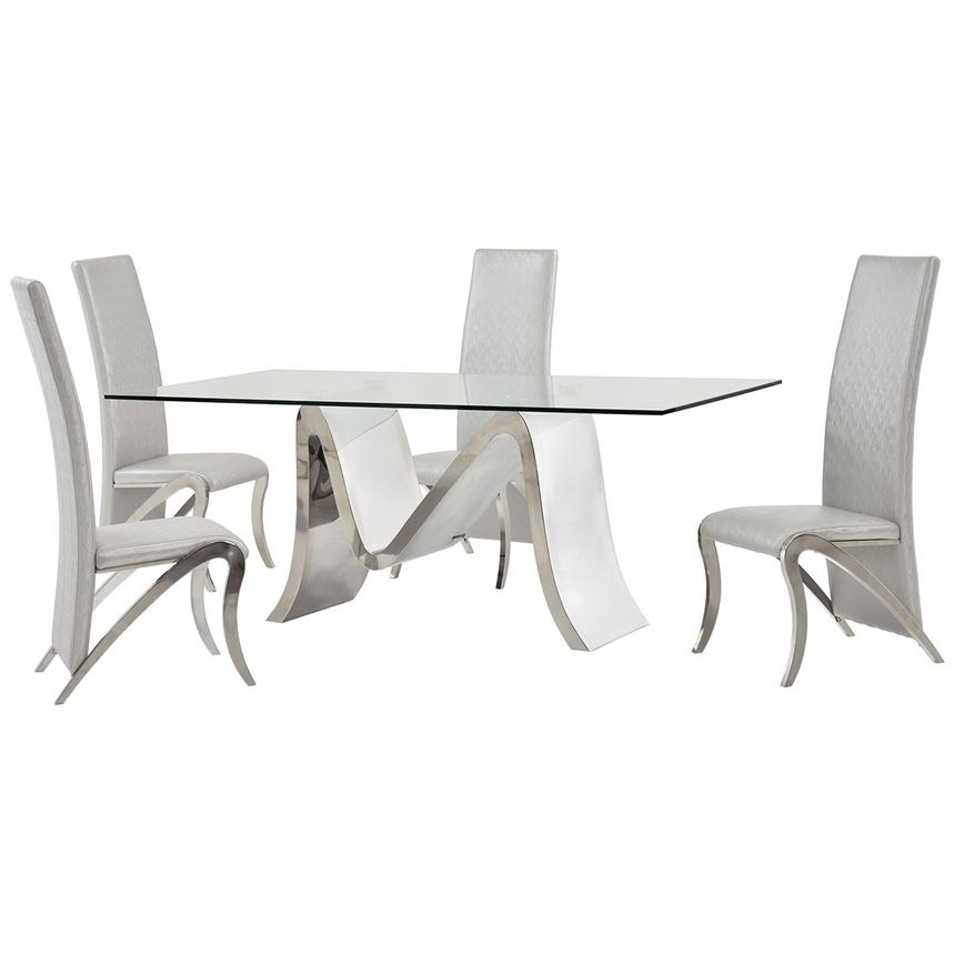 Maverick 5-Piece Formal Dining Set  main image, 1 of 10 images.