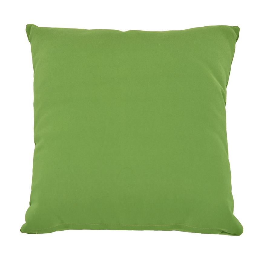 Real Green Outdoor Pillow  main image, 1 of 2 images.