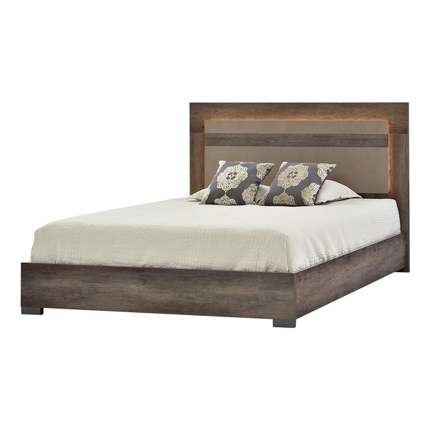 Matera Queen Platform Bed Made In Italy