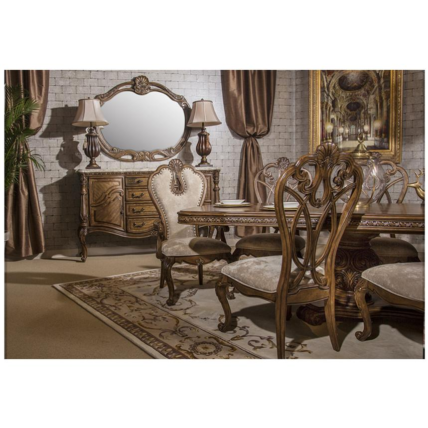 Eden S Paradise 5 Piece Formal Dining Set Alternate Image 2 Of 14 Images