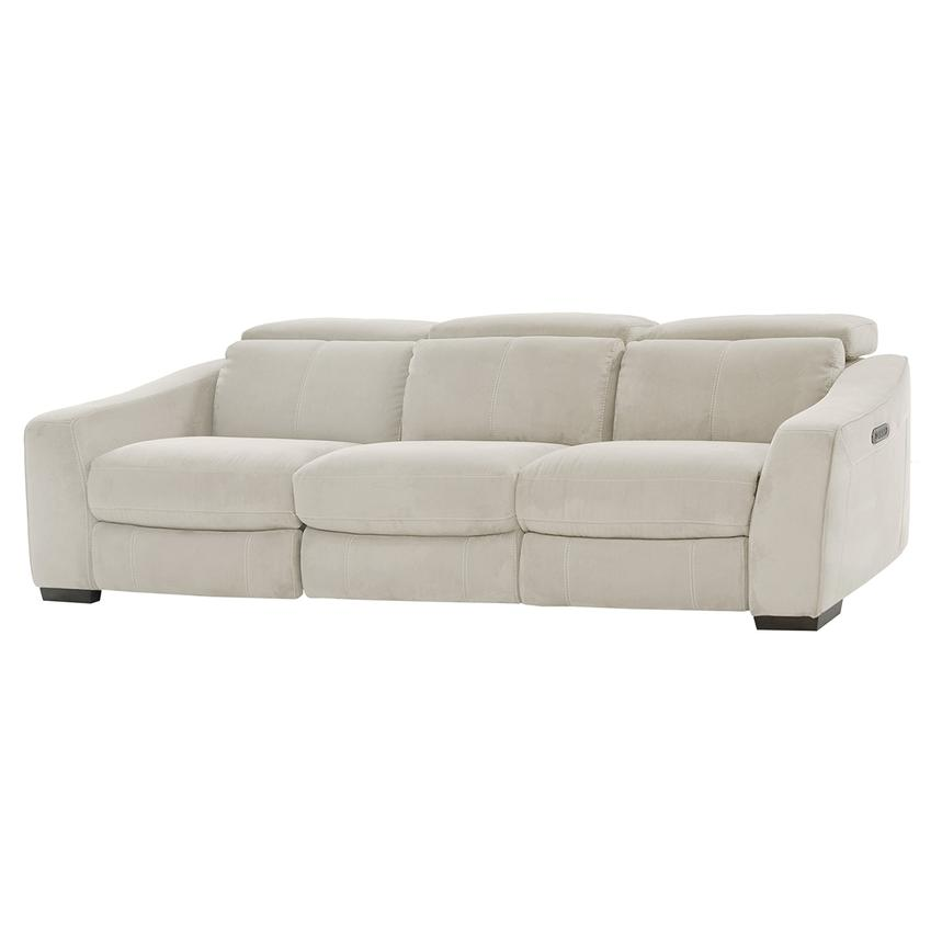 Jameson White Oversized Sofa  main image, 1 of 8 images.