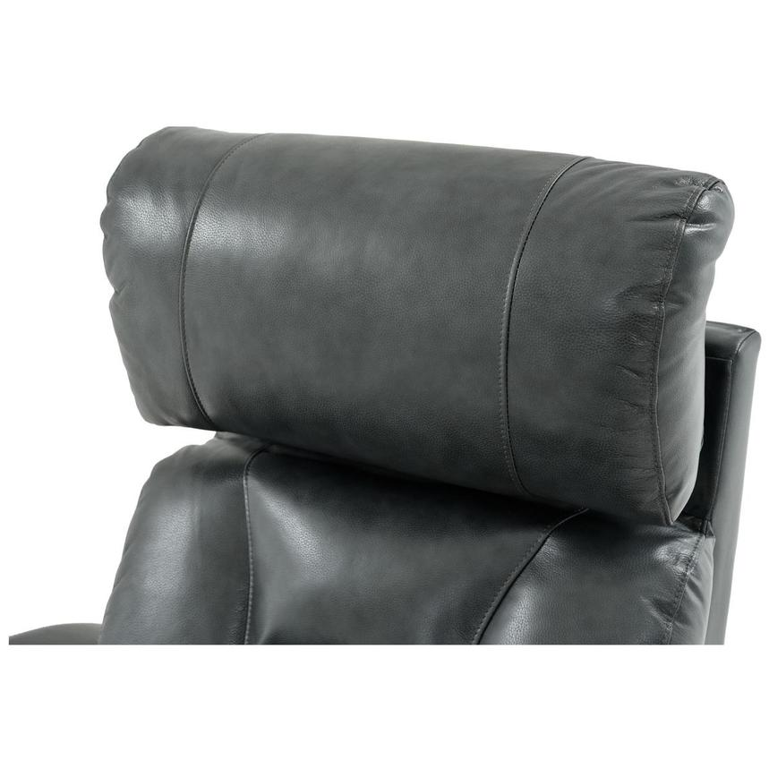 Gio Gray Leather Power Recliner  alternate image, 11 of 13 images.