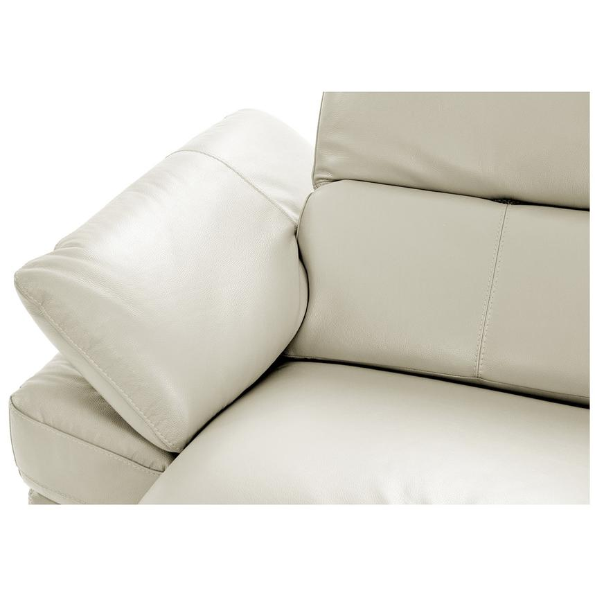 Toronto White Leather Power Reclining Sofa w/Right Chaise  alternate image, 5 of 11 images.