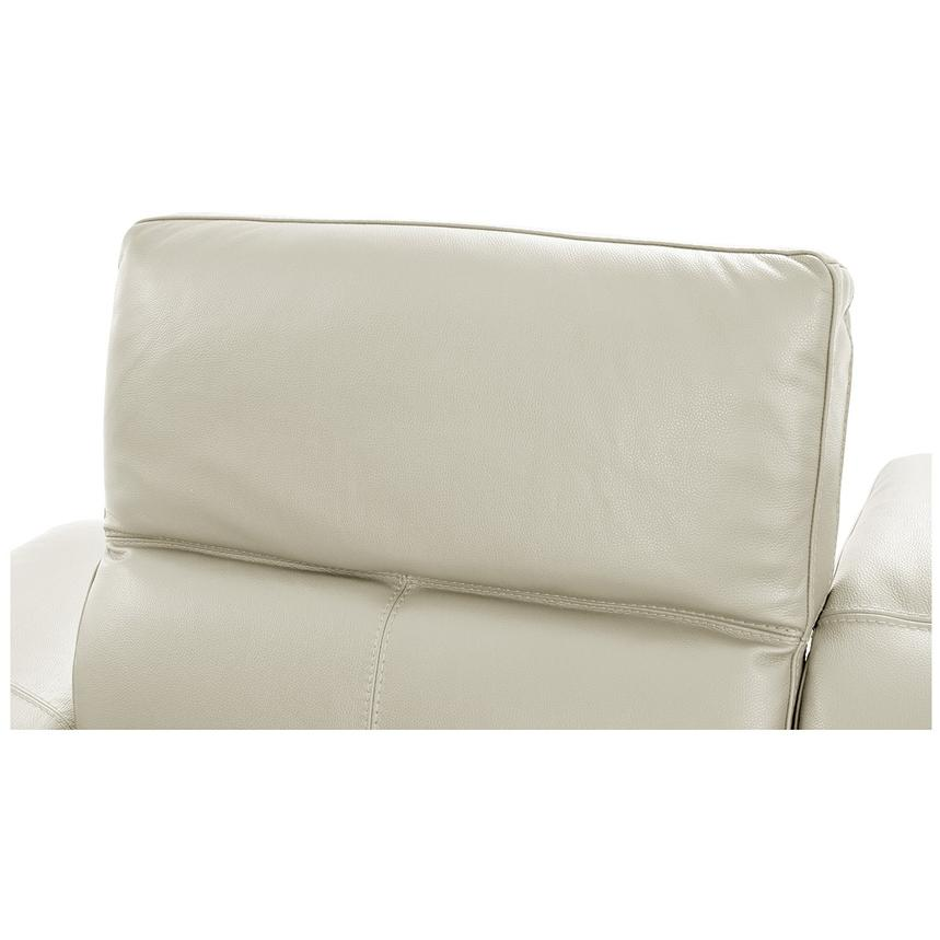 Toronto White Power Motion Leather Sofa w/Right Chaise  alternate image, 6 of 11 images.