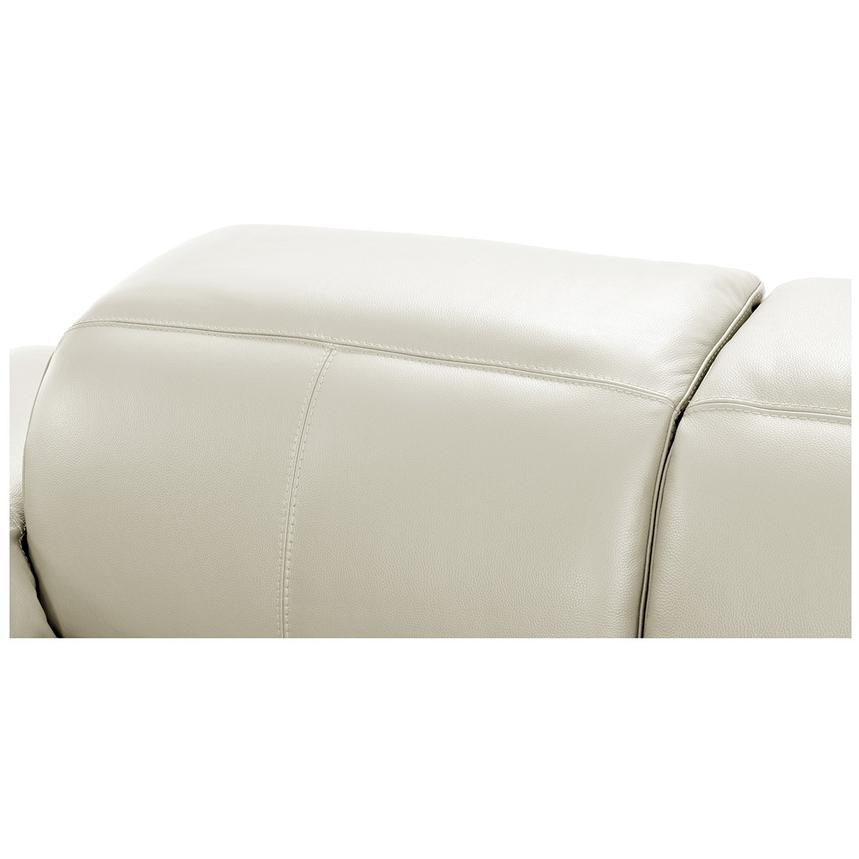 Toronto White Power Motion Leather Sofa w/Right Chaise  alternate image, 7 of 11 images.