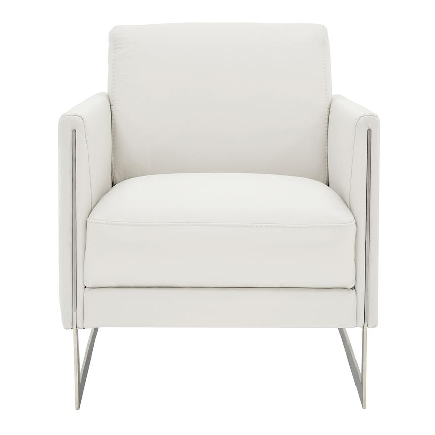 Peachy Coco White Leather Accent Chair Ibusinesslaw Wood Chair Design Ideas Ibusinesslaworg