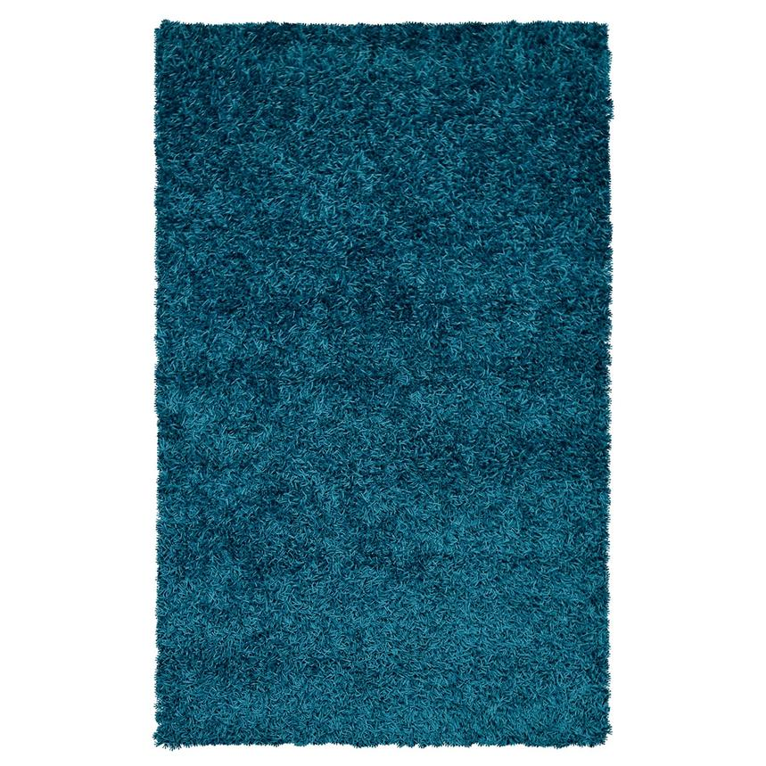 Sara Turquoise 5' x 8' Area Rug  main image, 1 of 3 images.