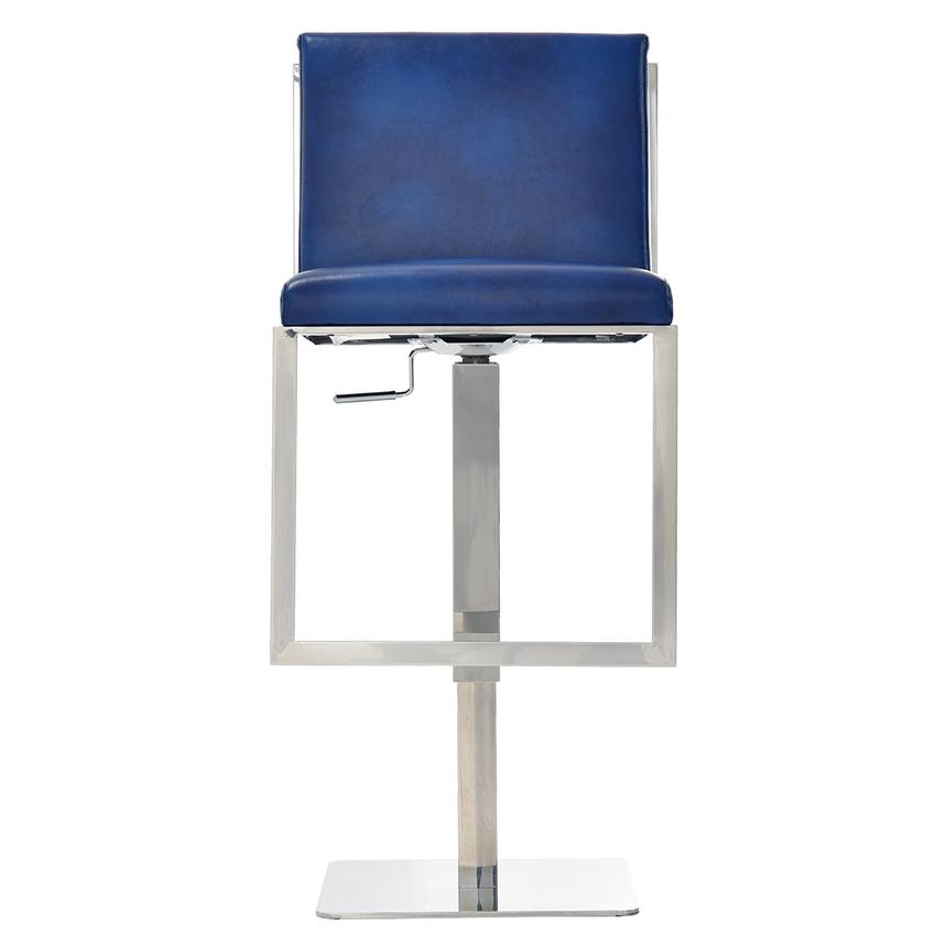 Aventura Blue Adjule Stool El Dorado Furniture