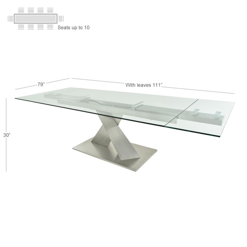 Knox Extendable Dining Table  alternate image, 2 of 5 images.
