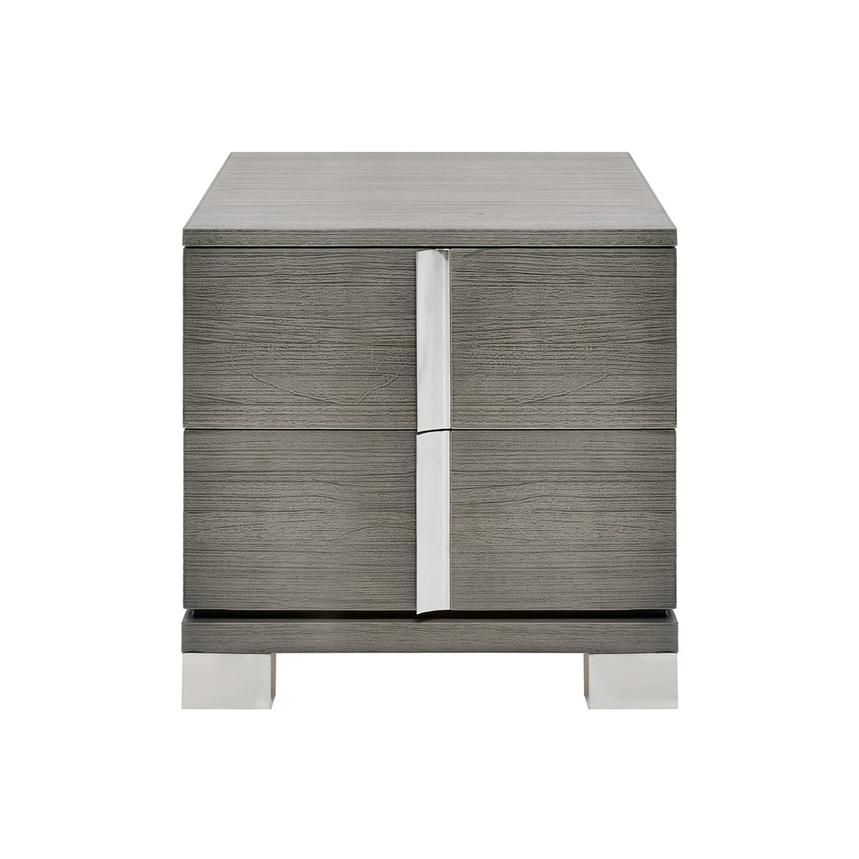 Venezia Gray Nightstand Made in Brazil  main image, 1 of 8 images.