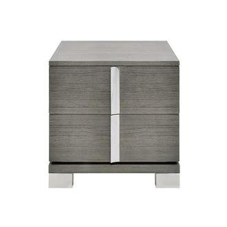 Venezia Gray Nightstand