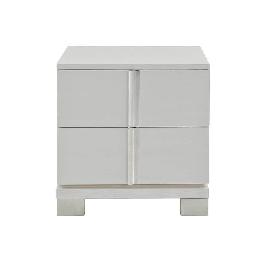 Venezia White Nightstand Made in Brazil  main image, 1 of 8 images.