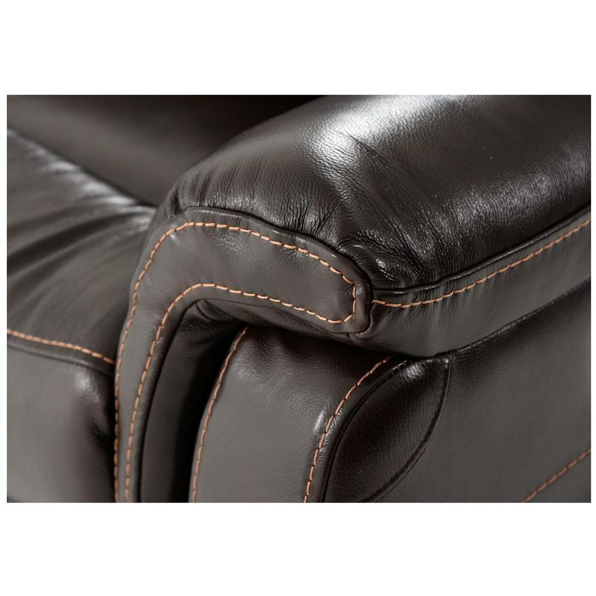Jeremi Power Motion Leather Sofa w/Console  alternate image, 7 of 10 images.