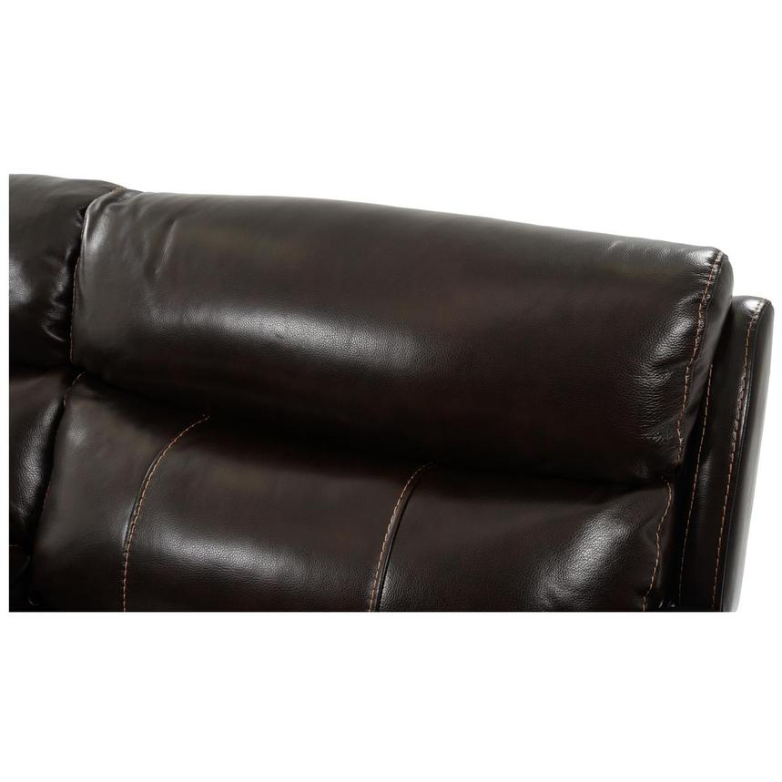 Jeremi Power Motion Leather Sofa w/Right & Left Recliners  alternate image, 6 of 8 images.