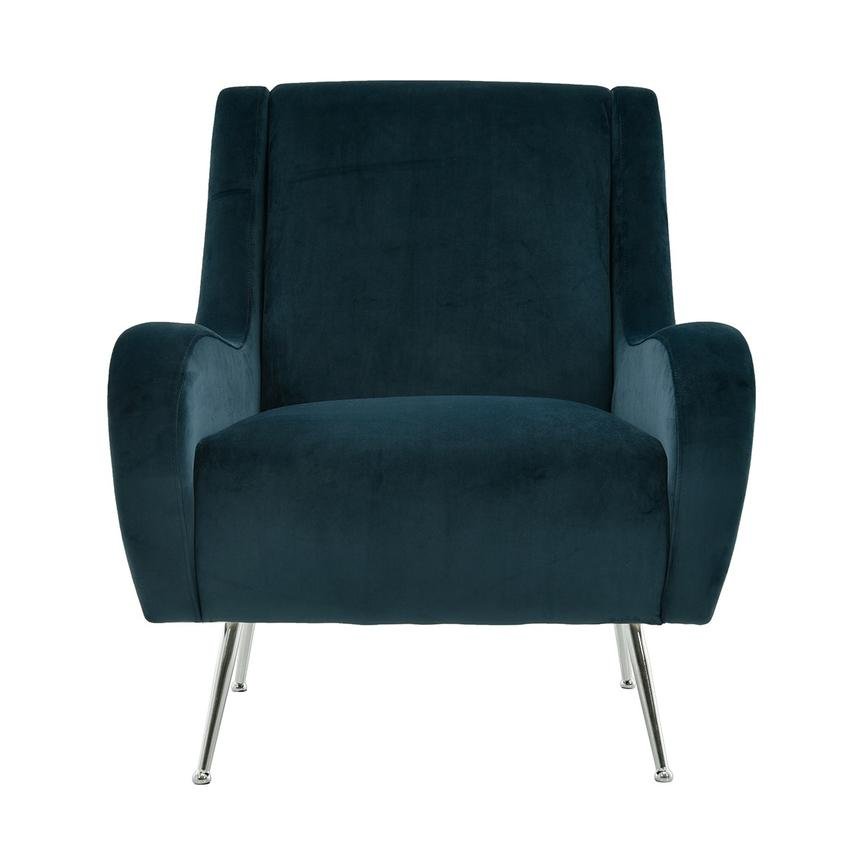 Morgan Blue Accent Chair  main image, 1 of 6 images.