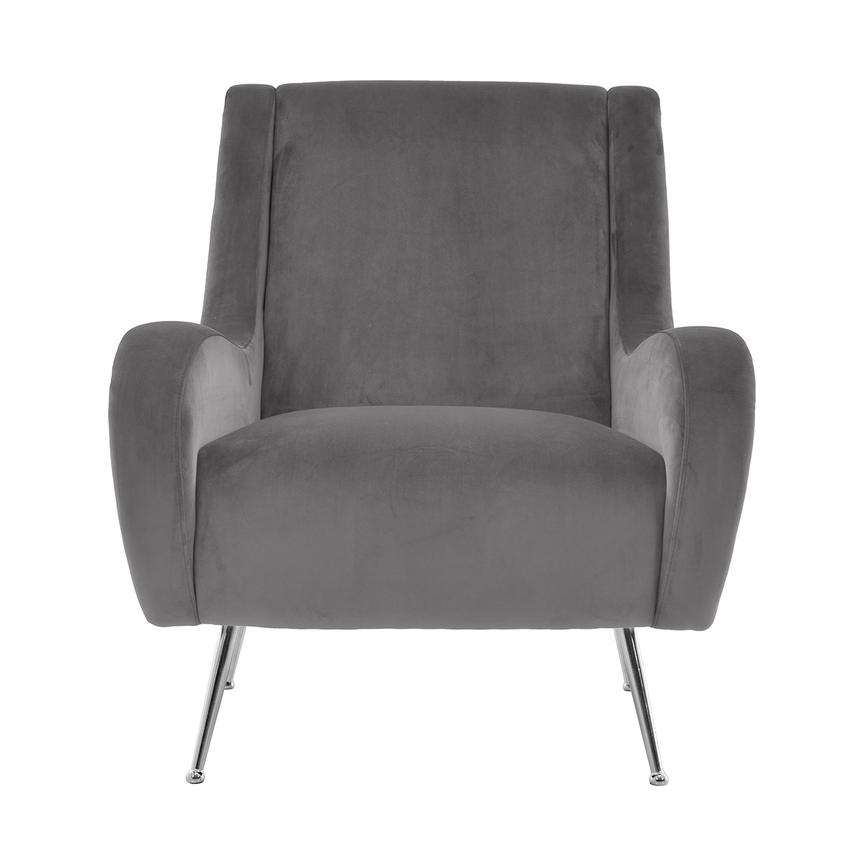Morgan Gray Accent Chair  main image, 1 of 6 images.