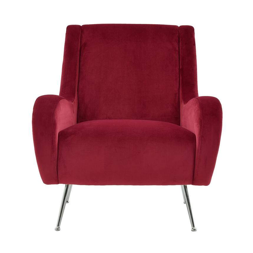 Morgan Red Accent Chair  main image, 1 of 6 images.