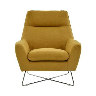 Grigio Yellow Accent Chair