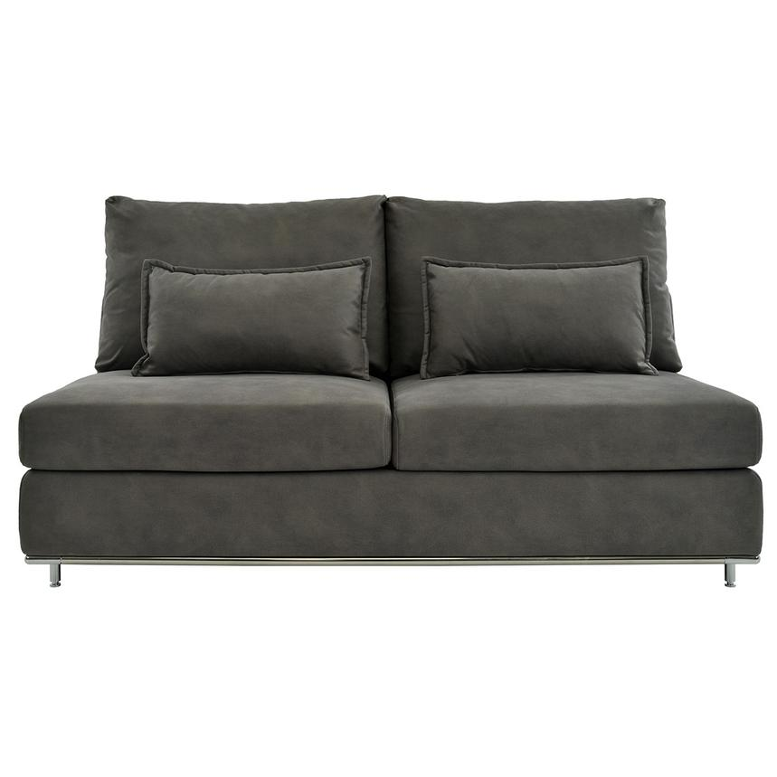 Grigio Armless Loveseat  main image, 1 of 5 images.