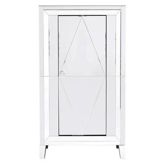Amia Mirrored Bar Cabinet