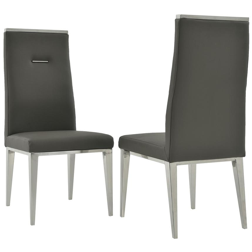 Madox/Hyde I Dark Gray 5-Piece Dining Set  alternate image, 11 of 13 images.
