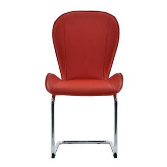 Latika Red Side Chair