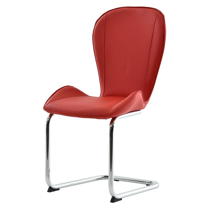 Latika Red Side Chair  alternate image, 2 of 6 images.