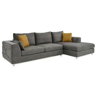 Grigio Sectional Sofa w/Right Chaise