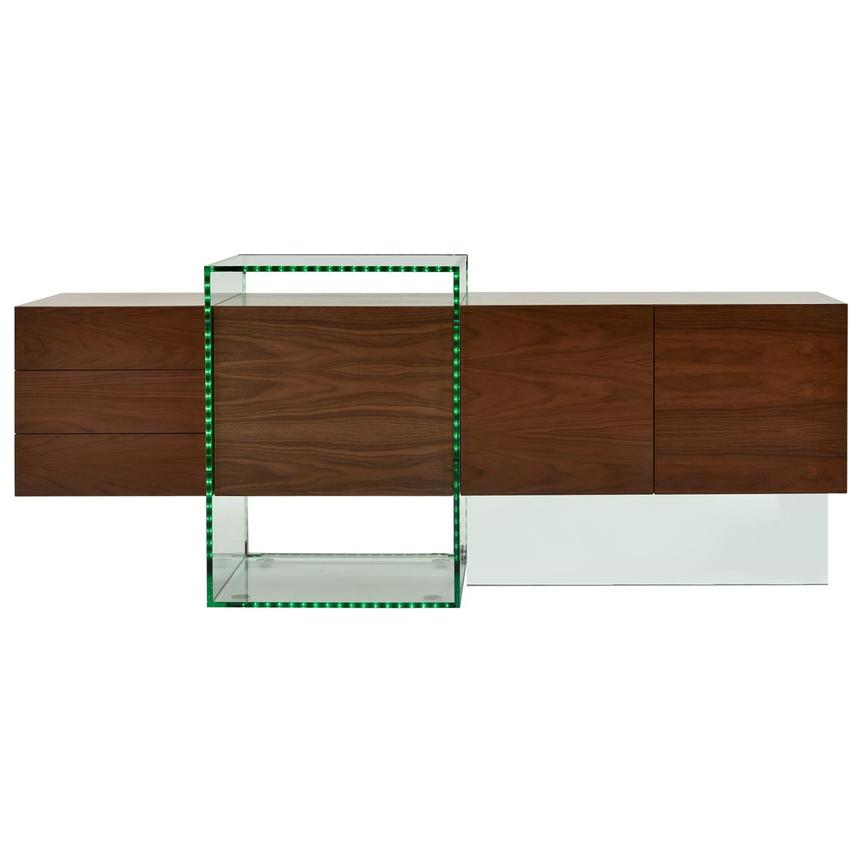 Illusion Walnut Cabinet w/Remote Control  main image, 1 of 11 images.