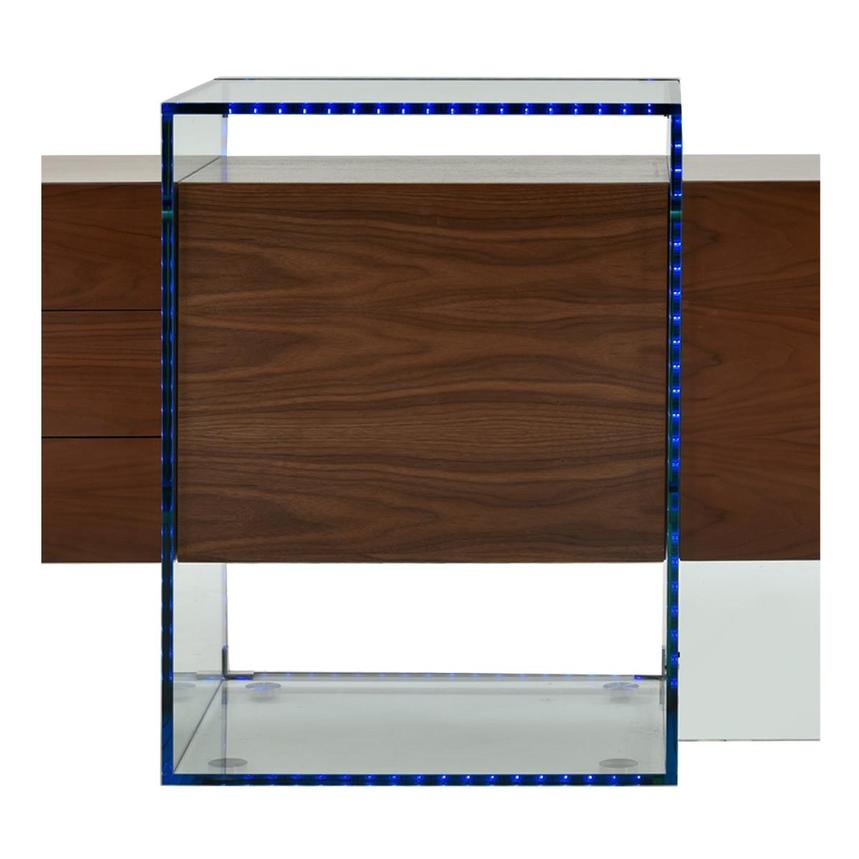 Illusion Walnut Cabinet w/Remote Control  alternate image, 11 of 11 images.