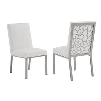 Wellington Silver Side Chair