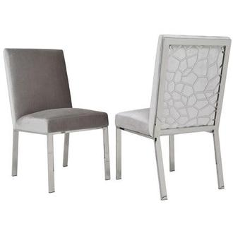Wellington Light Gray Side Chair