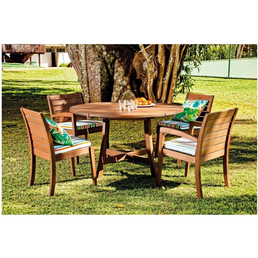 Jane 5-Piece Patio Set Made in Brazil  alternate image, 2 of 9 images.