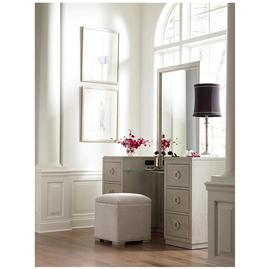 Rachael Ray's Cinema Vanity Bench w/Storage  alternate image, 2 of 6 images.
