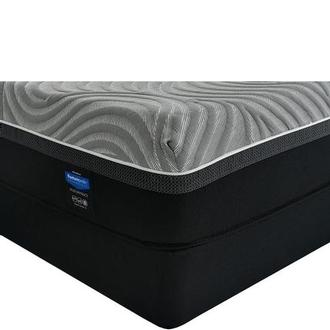 Copper II Queen Mattress w/Regular Foundation by Sealy Posturepedic Hybrid