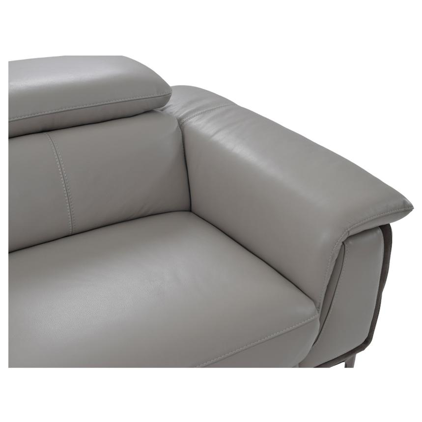 Richardson Leather Power Reclining Sofa w/Left Chaise  alternate image, 6 of 10 images.