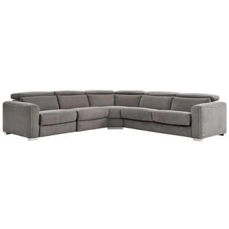 Bay Harbor Power Reclining Sectional w/Right Sleeper