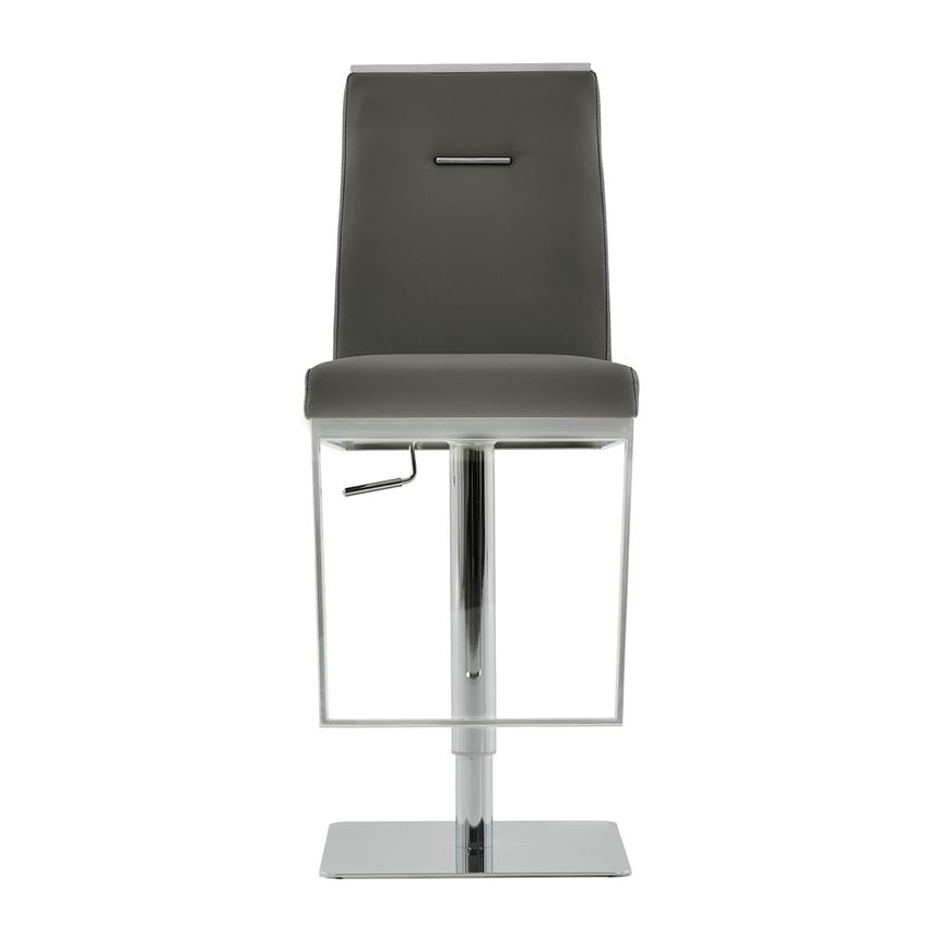 Hyde Gray Adjustable Stool  main image, 1 of 7 images.